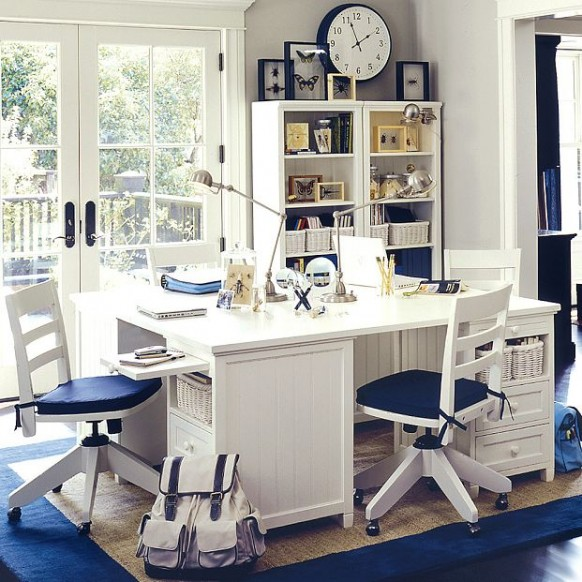 blue-white-study-room-582x582
