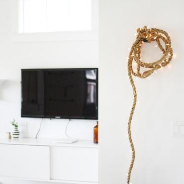 dekoracija na zidu