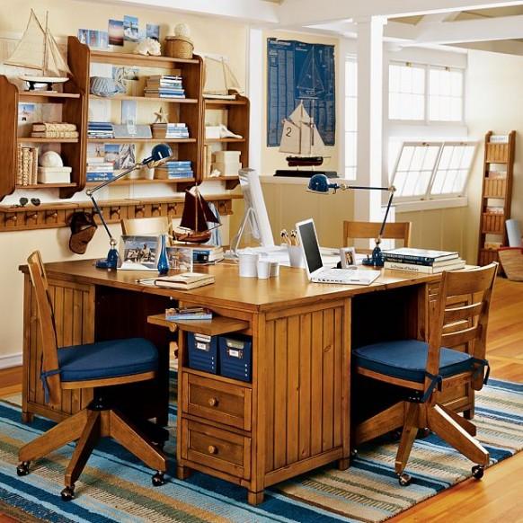 wooden-study-room-582x582
