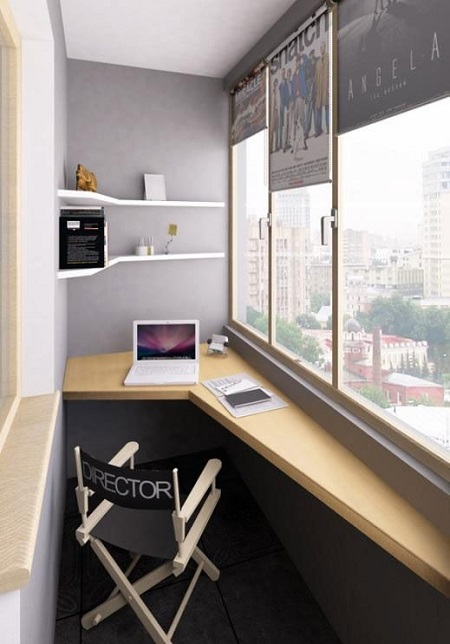 18-a-small-creative-home-office-with-a-geometric-built-in-desk-and-matching-shelves