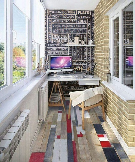 21-a-bold-anad-creative-home-office-with-a-unique-floor-and-a-statement-wall