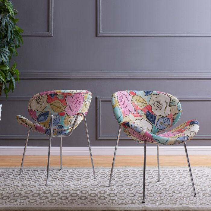 Handy-Living-Peter-Set-of-2-Multi-Abstract-Floral-Fuscia-Modern-Armless-Chairs-with-Chrome-Legs-f29f60e2-367c-4b43-b5aa-b4bc2e2bbe85