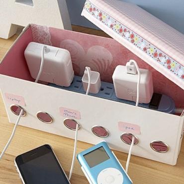 Genius-Craft-Ideas-Homemade-charging-station.