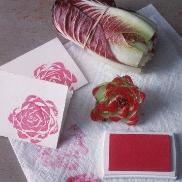 Genius-Craft-Ideas-Leafy-vegetable-stamps.
