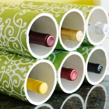 Genius-Craft-Ideas-PVC-Wine-Rack