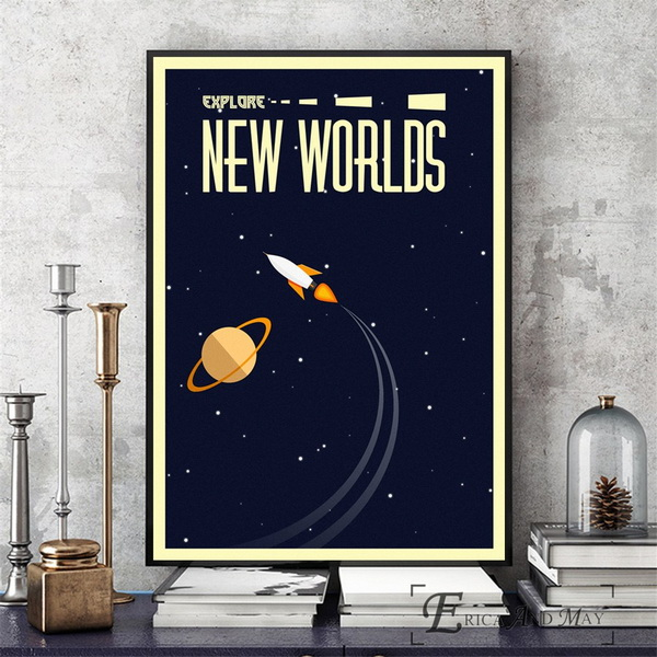 Space-Vintage-Soviet-Artwork-Wall-Art-Canvas-Painting-Poster-For-Home-Decor-Posters-And-Prints-Unframed