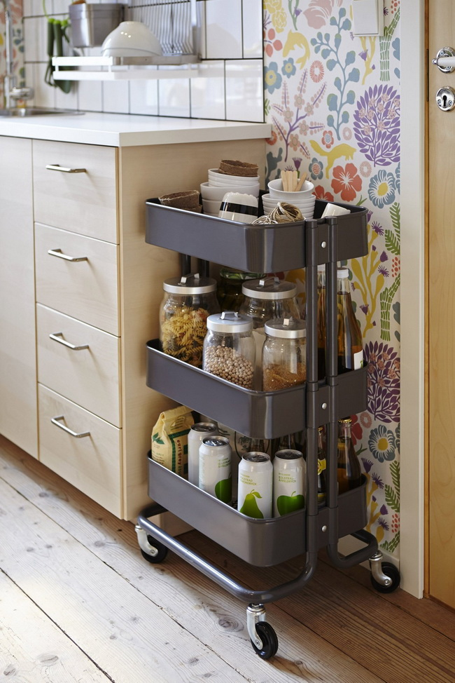 40-smart-ways-to-use-ikea-raskog-cart-for-home-storage-8